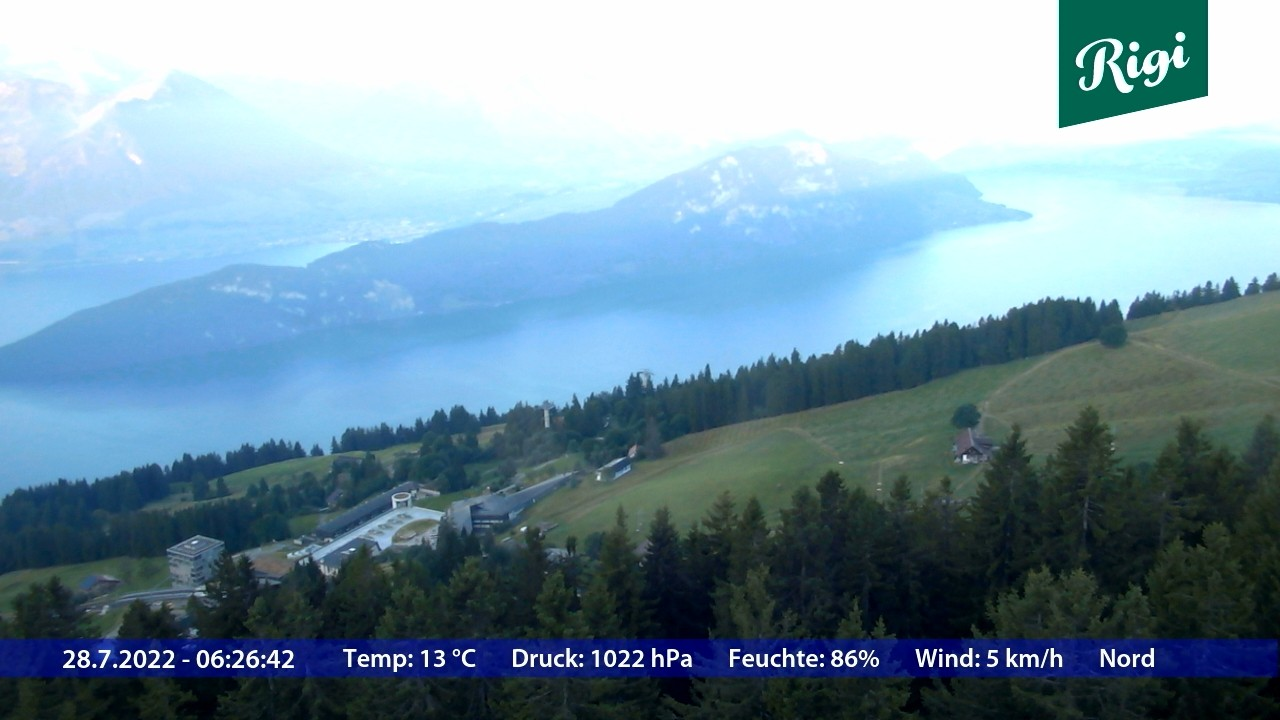 Webcam Rigi Rotstock